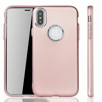 Apple IPHONE X/XS Case Cover Phone Case Cover Bumper IN Rose Pink