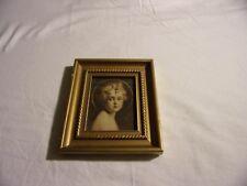 Vintage Jesus Light of the World by Edward Gross Co. Wood Frame 7.5 x 6.5