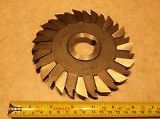 """U.T.D. 6"""" x 1/2"""" x 1-1/4"""" Side Mill Cutter 30 Staggered Teeth"""