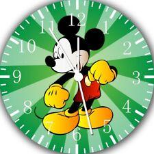 Disney Mickey Mouse Frameless Borderless Wall Clock For Gifts or Home Decor E103