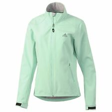 ADIDAS SOFT SHELL WOMEN'S HIKING WALKING OUTDOOR JACKET SIZE.UK-14  -- D81778
