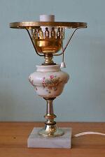 Mid century ceramic table lamp light lighting porcelain shabby chic NO 690