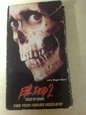 Empty VHS Case Evil Dead 2 Dead By Dawn