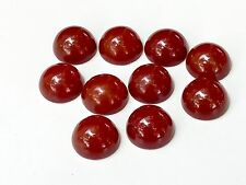 10 Bakelite 22mm Red Cabochons Beads
