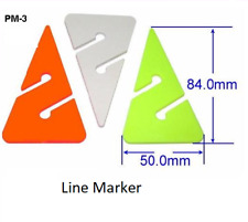 scuba diving line marker. yellow triangle 84mm x 50mm PM-3