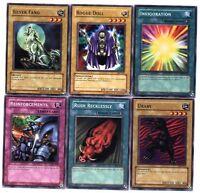 Ω YUGIOH Ω Lot de 6 Belles Cartes Lot N° YH 98