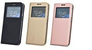 Smart Look View Handy Tasche mit Fenster Book Cover für ZTE Blade A310 A602