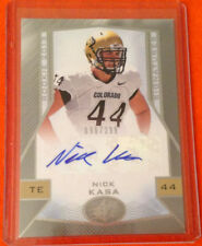 2013 SPX NICK KASA RC AUTO #096/299 Raiders/Colorado Rookie Signatures #93