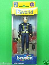 Bruder bworld 60100 Feuerwehrmann mit Zubehör Blitzversand per DHL-Paket