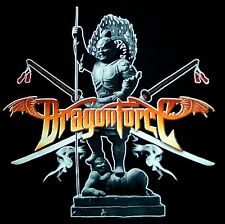DRAGONFORCE cd lgo SMOKIN' SAMARAI Official SHIRT LAST LRG New oop
