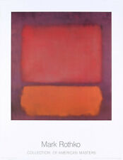 Untitled, 1962 by Mark Rothko Art Print Abstract Poster 27.5x35.5