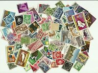 World, Kiloware, Collection lot of 100+ different Worldwide stamps
