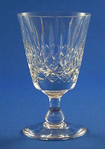 "EDINBURGH CRYSTAL -  APPIN DESIGN - WHITE WINE GLASS  11.7cm  /  4 5/8"""