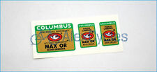 Bicycle Columbus MAX OR Ellissi Orientate Rinforzati Frame Fork Decals Stickers