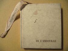 MAURICE LELONG CÉLÉBRATION DE L'ANDOUILLE ROBERT MOREL 1964 ÉDITION ORIGINALE