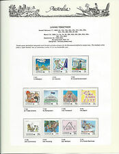 1988 Living Together:Complete Set of 27 Stamps:Muh#