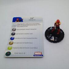 Heroclix Captain America set Sin #209 Gravity Feed figure w/card!