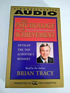 Brian Tracy, The Psychology of Achievement AudioBook Cassette Tapes