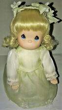 Precious Moments Vintage Rare Retired Porcelain Doll Bisque Ceramic Curls Gift