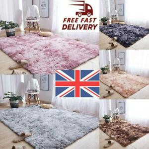 Fluffy Rug Non-Slip Faux Fur Soft Large Plush Living Room Floor Rugs Carpet Mat