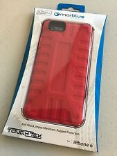 MarBlue ToughTek Impact Resistant Rugged Case for iPhone 6 - Red A6TT47A