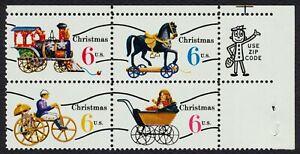 #1418c 6c Christmas Toys, Zip Block [UR], **ANY 4=FREE SHIPPING**