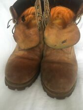 TIMBERLAND BOOTS HERITAGE SIZE 10 WELL WORN