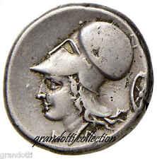 AKARNANIA STATERE ARGENTO PEGASO ATHENA RUOTA 350 a.C.