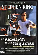 LA REBELIÓN DE LAS MÁQUINAS de Stephen King Tarifa plana en envío dvd España 5 €