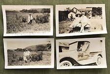 4 RARE ORIGINAL EARLY CLARK GABLE PHOTOGRAPHS DATED 1920