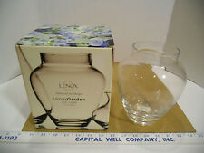 "Lenox American By Design Lenox Garden 7"" Glass Urn Vase, Made in Poland - New"