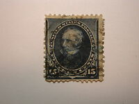 US Stamp Scott# 259  15 Cent Clay 1894 used