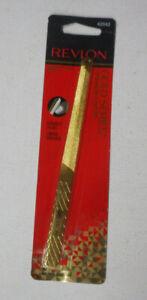 1 REVLON GOLD SERIES TITANIUM COATED NAIL FILE 42042 DURABLE FILING sealed