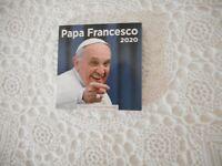 Photos of Papa Francesco in Small 2020 Calendar