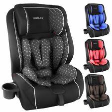 Auto- Kindersitzt ISOFix 9-36KG 1 2 3 ECE Becherhalter Autositzt 4 ver.Farben