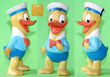 "Vintage Romania ""Aradeanca"" DONALD DUCK Rubber Doll Toy 1960-70s"