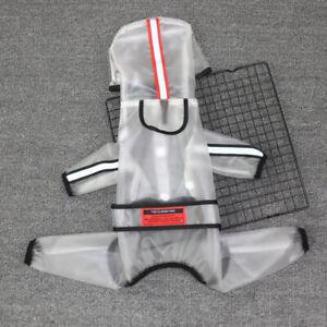 Waterproof Pet Dog Raincoat Jumpsuit Puppy Cat Rain Coat Jacket Overalls Clothes