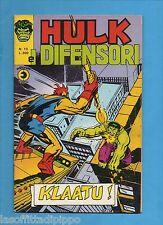 SUPER EROI - HULK E I DIFENSORI - CORNO -N.13- 4 SETTEMBRE 1975 - NON DI RESA