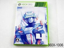 Virtual On 4 Force (LE cover)Xbox 360 Japanese Import Region Free JP US Seller