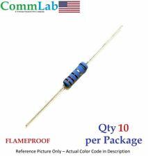 100k Ohm 2 Watt 2w 1 Tolerance Metal Film Resistor 10 Pieces