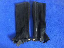 Shires Horse Riding Half Chaps Size XS - Childs