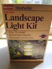 Mason WeatherTite Four Tier Metal Landscape Light Kit Model K330BR K330 3 tier