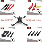 XK X250 Parts CW CCW Propellers/Upper Lower Body Frame Cover Shell/Lampshade Set