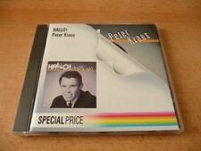 CD Peter Kraus - Hallo !  1987 - 16 Songs - Special Price Edition