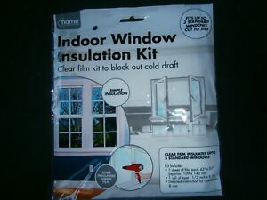 window insulation kit, draught excluder
