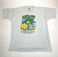 Vintage Sports Fruit Of The Loom 90's 1997 Portland Tshirt Size Xl (Stain)