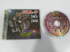 SKA-P PLANETA ESCORIA CD BMG RCA 2000 SPANISH EDITION + VIDEOS