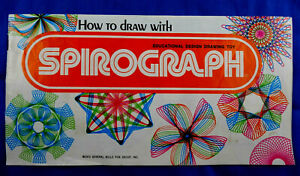 1973 Kenners Spirograph No. 14210   Vintage