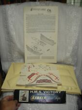 Vintage AIRFIX Craft Master  HMS VICTORY Sail Decals PARTS  KIT NO 1909-400