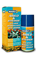 MARLY AIRCO & HABITACLE NETTOYANT, DESINFECTANT ET ANTI ODEURS (150ml)